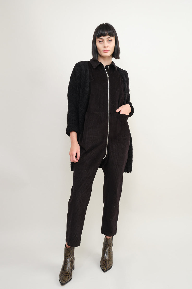 Rachel Comey barrie jumpsuit in coal