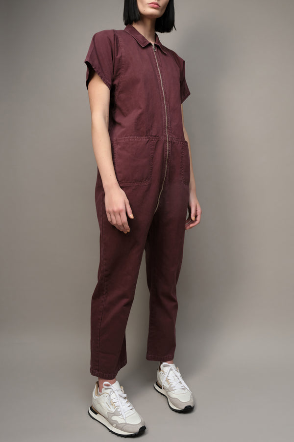 Barrie Jumpsuit in Clay Rachel Comey