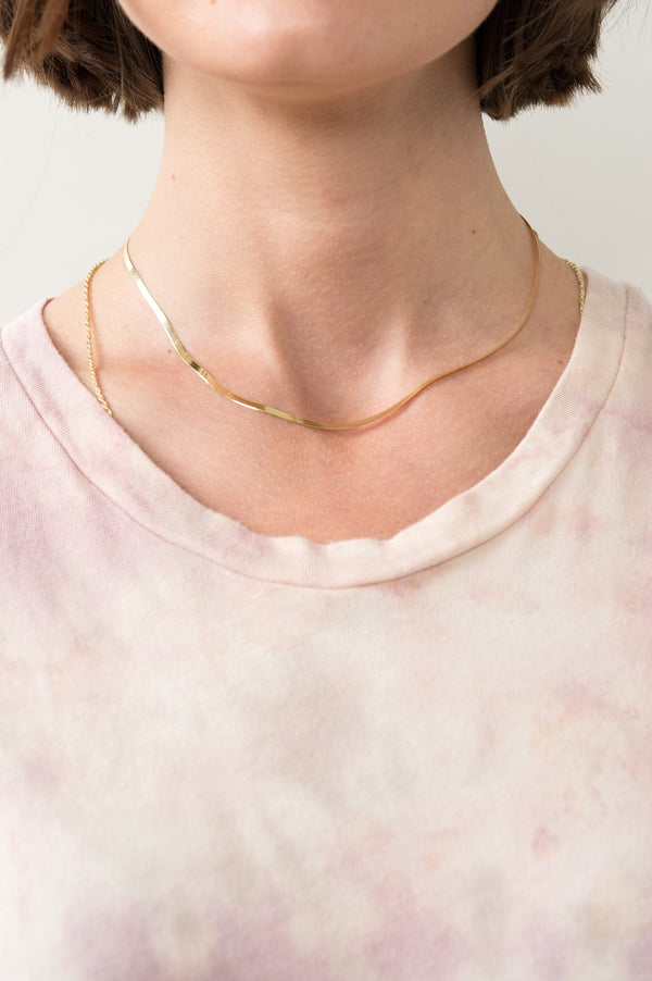 Women's Simple Gold Chain Necklace