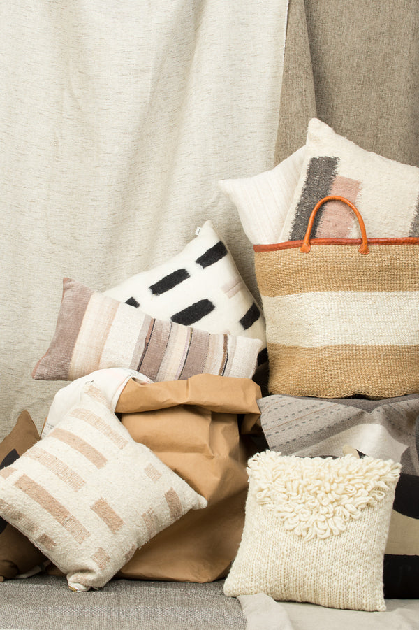 minna striped pillows