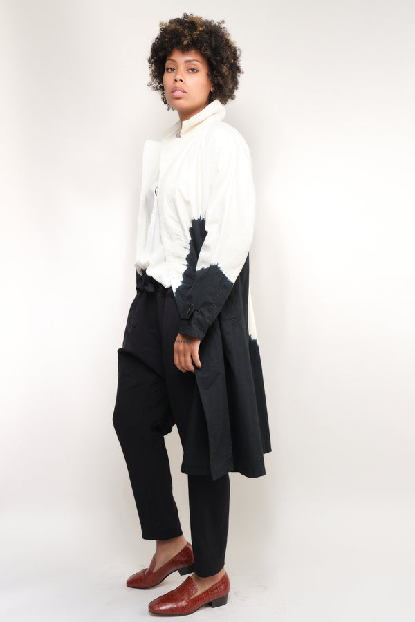 suzusan cotton four pocket spring long coat