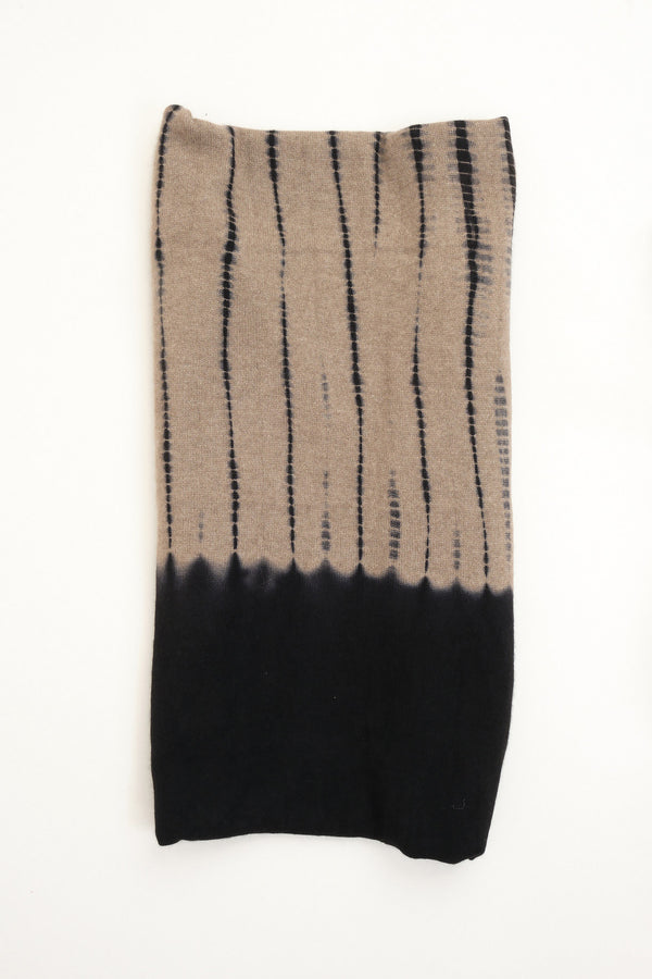 Cashmere Knit Throw in Black