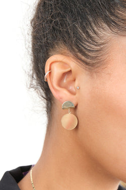 Carrie Hoffman 14K Gold Earrings