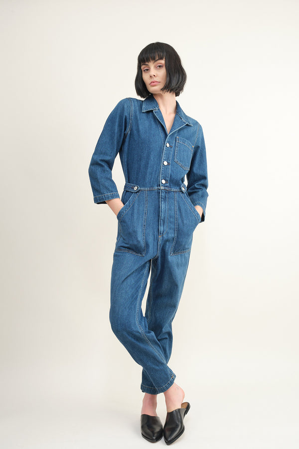 Trave Denim Giselle Boilersuit