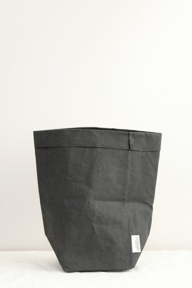 Uashmama Large Plus Paper Bag Black