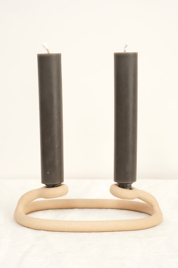 duo candlestick holders