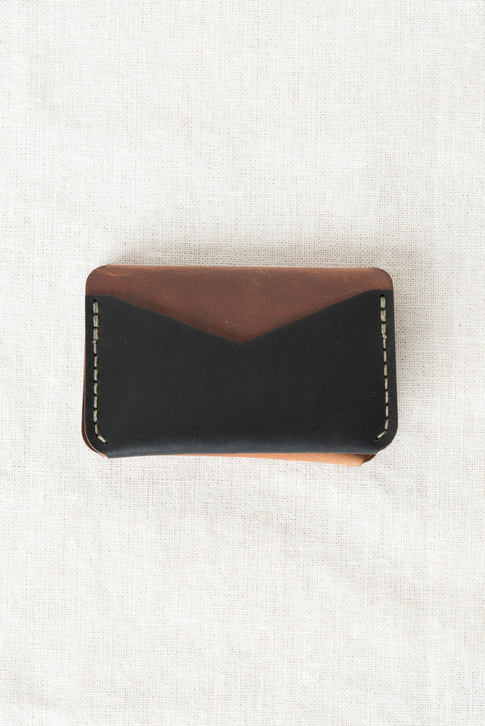 black brown wallet