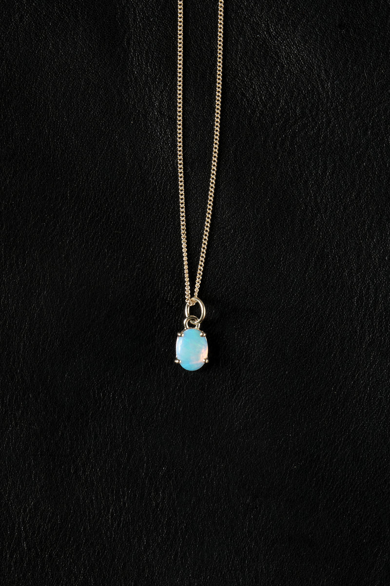 WWAKE opal necklaces