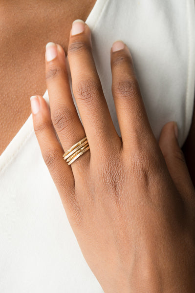 Grande El Dorado Ring In 14K Gold