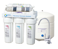 Naples Naturals RO66 Reverse Osmosis Water Filter System (Alkaline 6-Stage) KIT