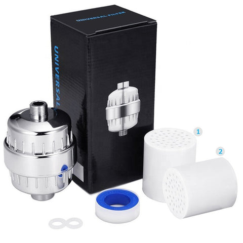 Premium KDF-55 Shower Filter with Extra Filter Cartridge