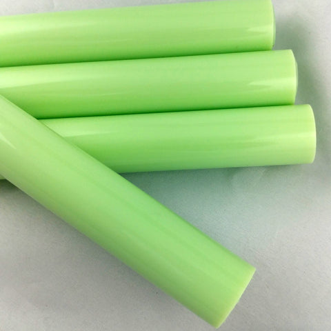 Chinese Milky Green Tubing 25 x 4mm - 12""