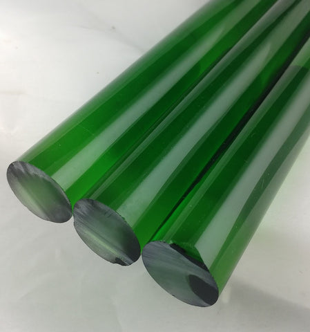 25 MM Chinese Transparent Green Rod