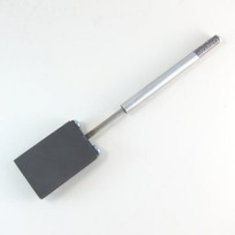 "2"" x 3"" Graphite Paddle with Aluminum Handle"