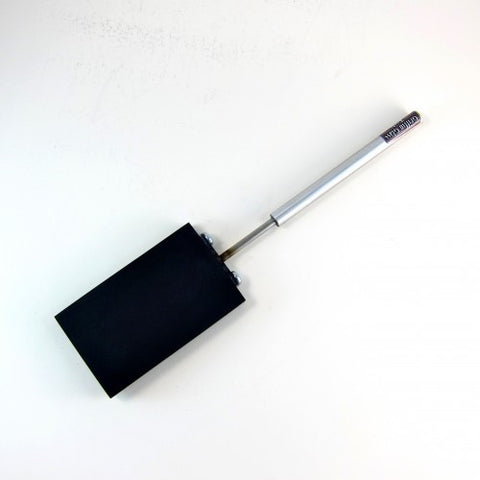 "3"" x 5"" Graphite Paddle with Aluminum Handle"