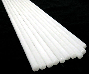 7MM Chinese Jade White Rod