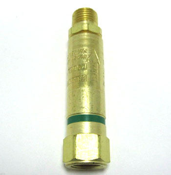 Single Oxygen Flashback Arrestor