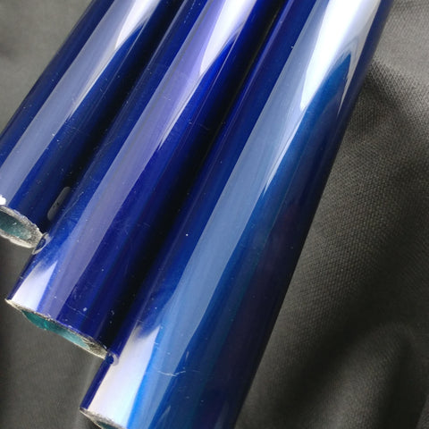 Electric Blue Velvet Tubing