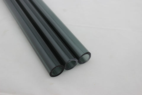 16 x 2 MM Chinese Transparent Black Tubing