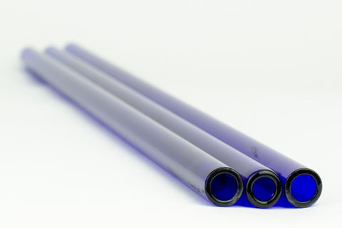 Chinese Brilliant Blue 19 x 3.0 MM Tubing