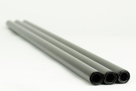 Chinese Opaque Black 25 x 4 MM Tubing