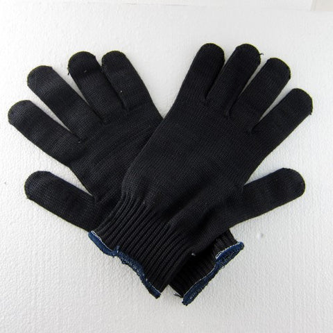 Black - 2 PLY - Large Kevlar Gloves