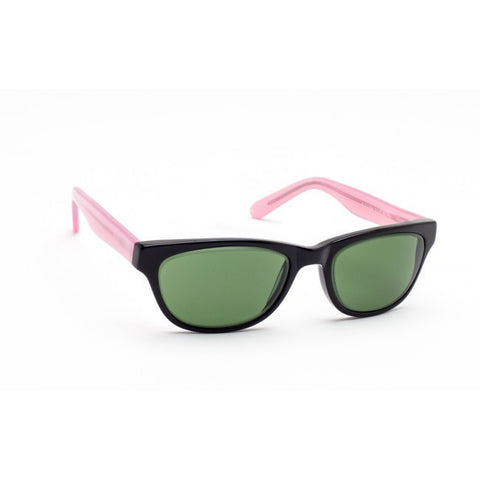 Geek Cat 01 Black and Pink Glassworking Safety Glasses, #GB-GK-CAT01BP