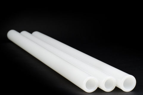 Chinese Jade White 25 x 4 MM Tubing