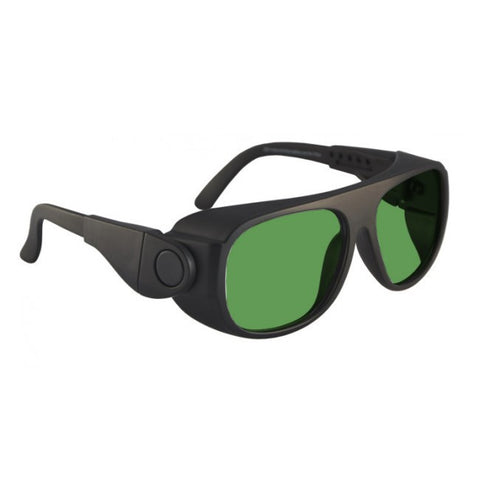 Model 66 Black Glassworking Safety Glasses, #GB-66-BK