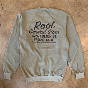 Shop Sweatshirt Washed Army Green
