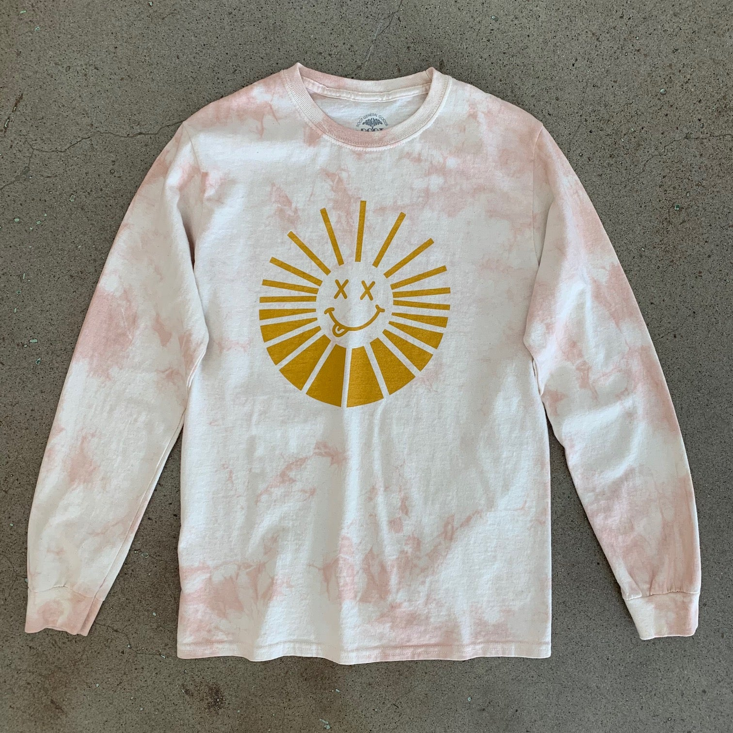 Psychedelic Silly Sun Long Sleeve T-Shirt