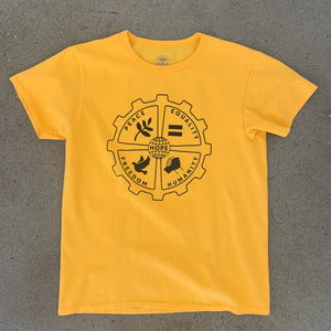 Hope T-shirt Gold