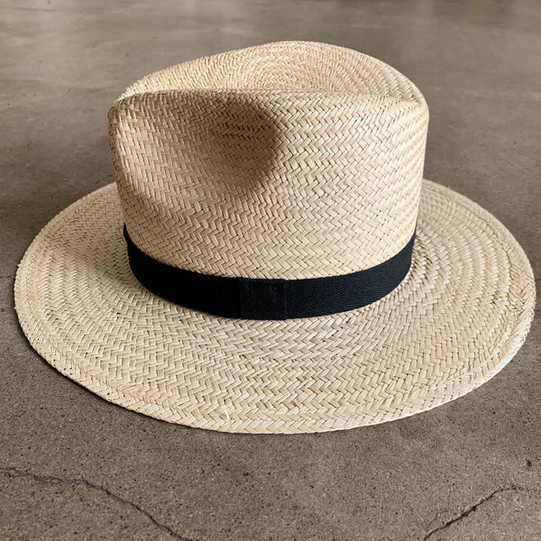 Stevie Natural Palm Straw Hat
