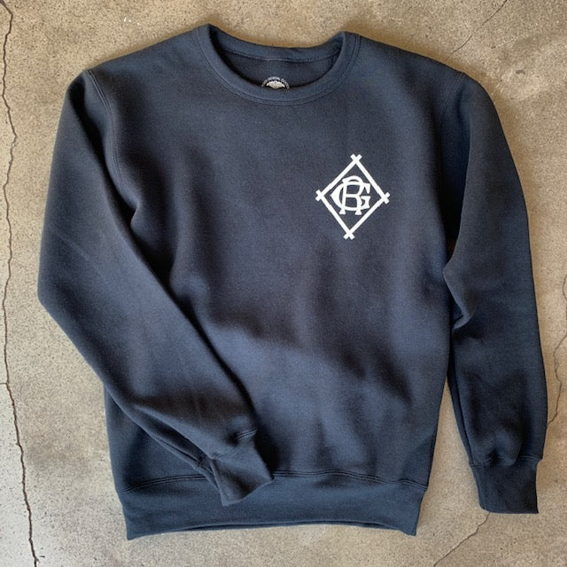 RG Black Athletic Dept Crew Sweatshirt