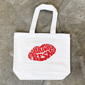 Downtown Lips Tote