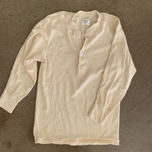 Vintage Thermal Henley
