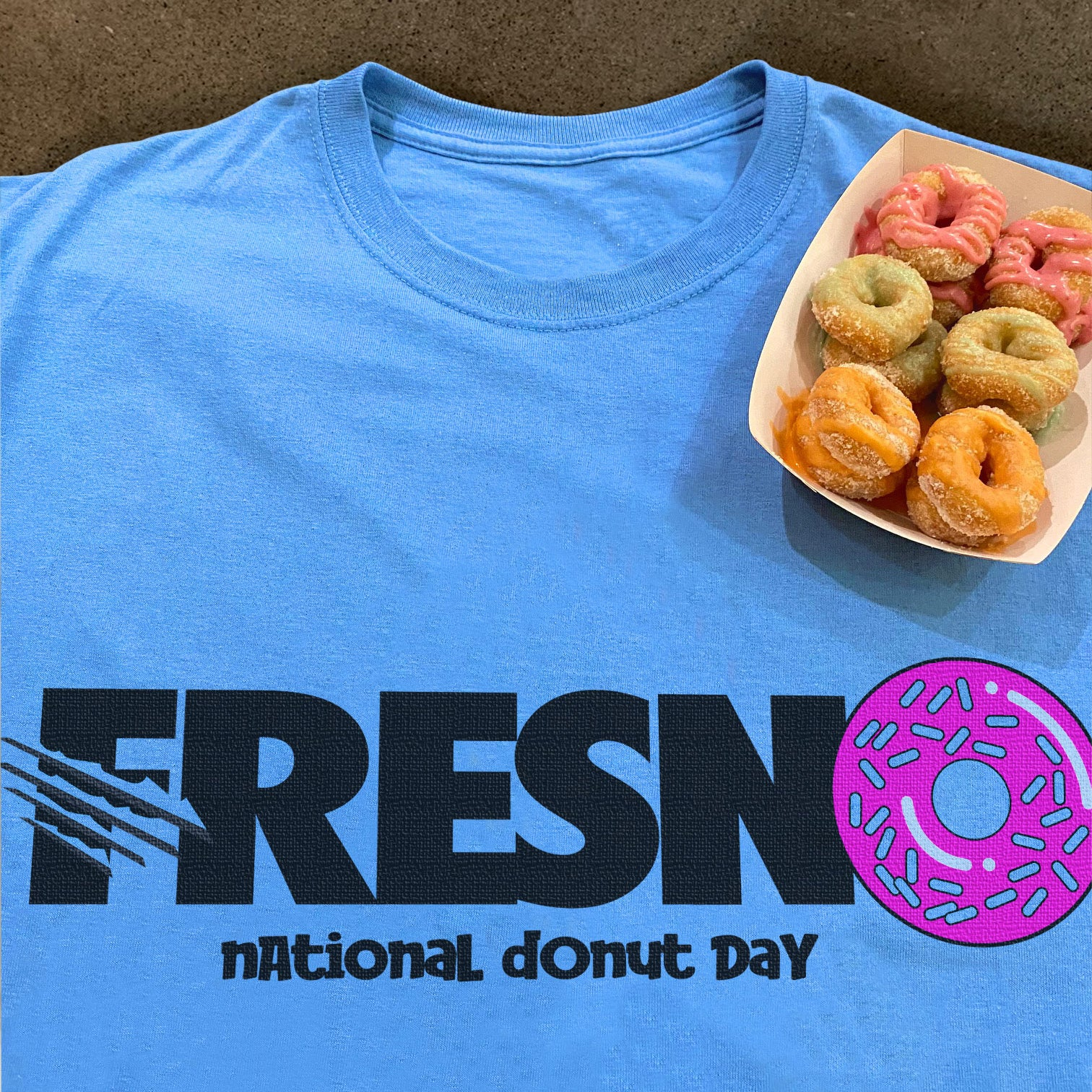 Grizzlies Donut Day T-Shirt