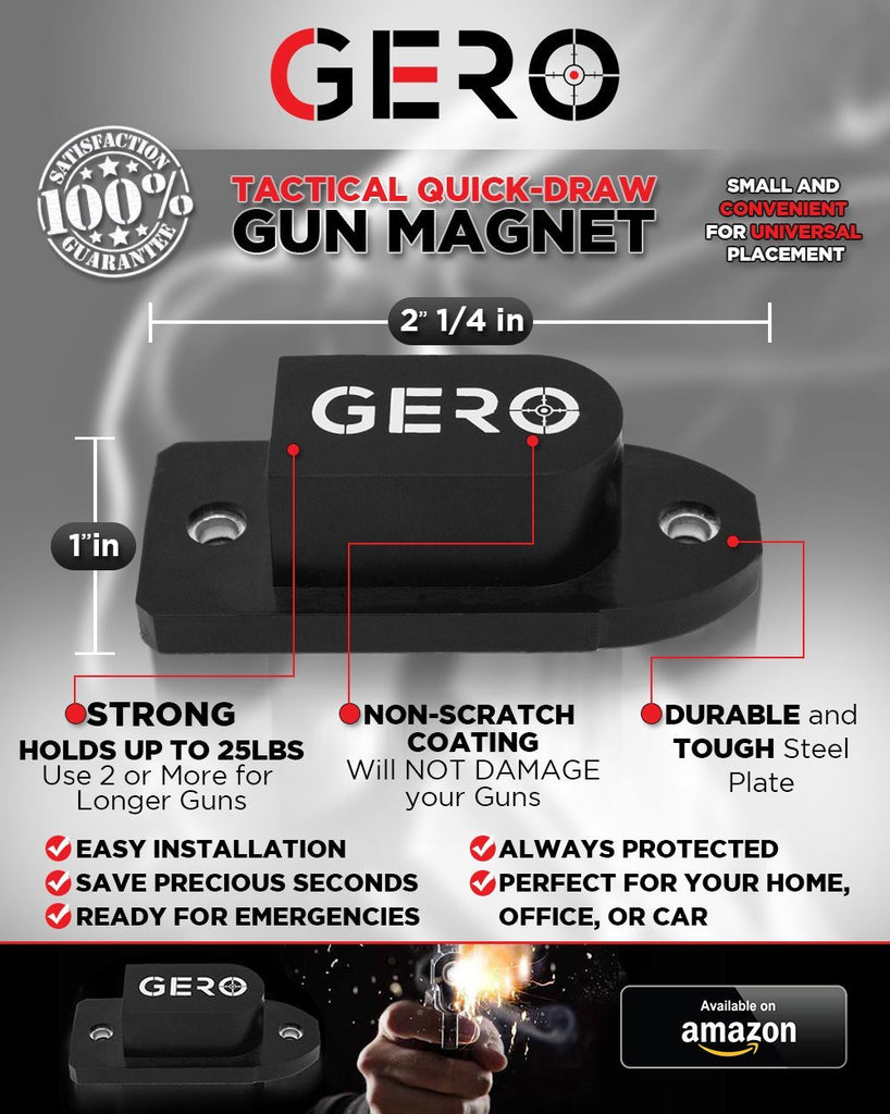 Gero Quick Draw Gun Magnet How To Build Magnetic