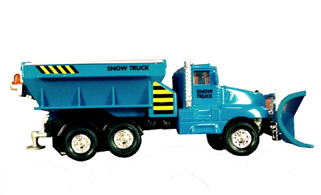 Gin-Cor Toy Snow Plow