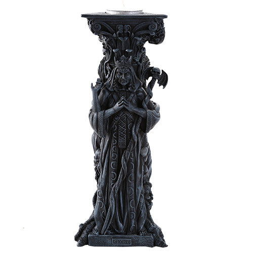 Mother Maiden Crone Candleholder