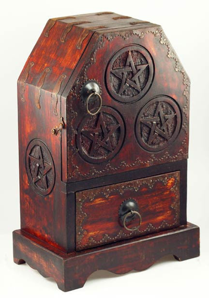 Pentagram Cupboard / Box
