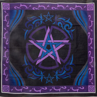 Celtic Pentacle Altar Cloth