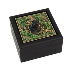 Pentagram Cat Tile Box | Pagan Portal