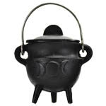 Triple Moon Cast Iron Cauldron | AG