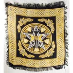 New Pentacle Goddess Altar Cloth | Pagan Portal