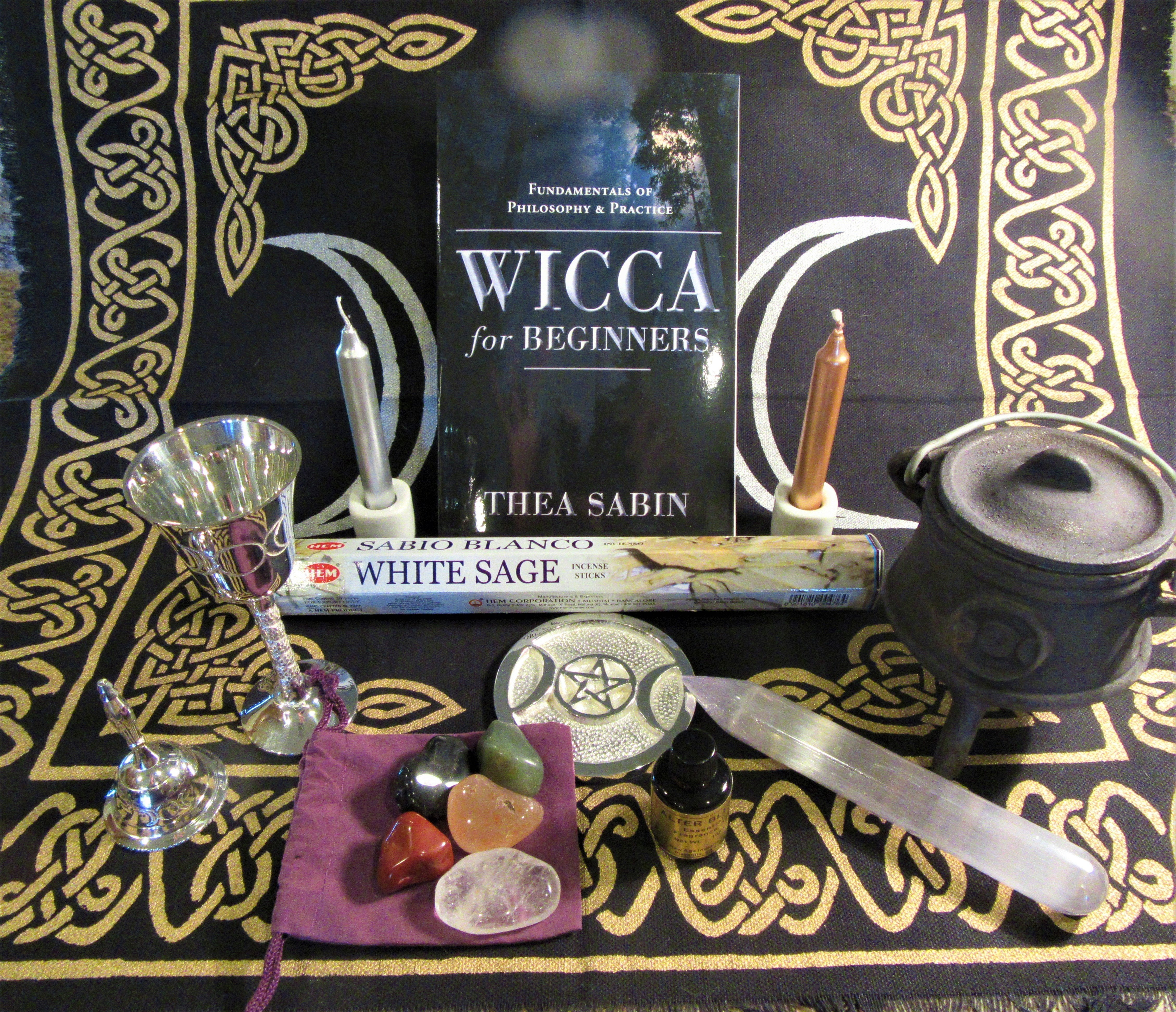 Witchcraft Wiccan Or Pagan Altar Kits Or Sets Pagan Portal