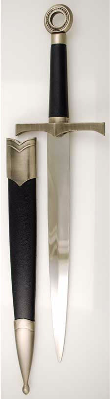 Black Medievel Athame