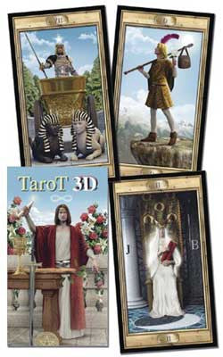 3D Tarot Deck by David Corsi