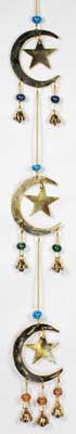 Stars and Moon Wind Chime