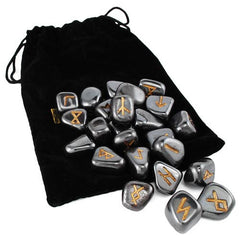 Hematite Rune Set by Lo Scarabeo | AG